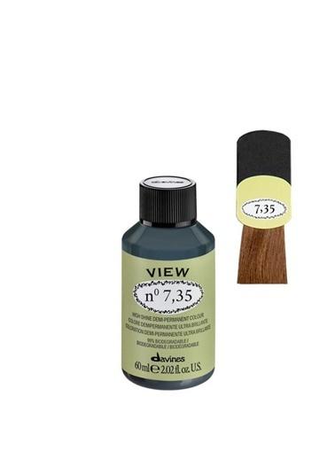 Davines Davines View Yarı Kalıcı Saç Boyası 7,35 Kumral Dore Akaju 60 Ml Renksiz
